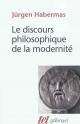 Couverture : Discours philosophique de la modernité (Le) Jürgen Habermas