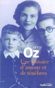 Couverture : Une Histoire d'Amour et de Ténèbres Amos Oz