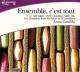 Couverture : Ensemble, c'est tout  CD Anna Gavalda