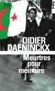 Couverture : Meurtres pour mémoire Didier Daeninckx