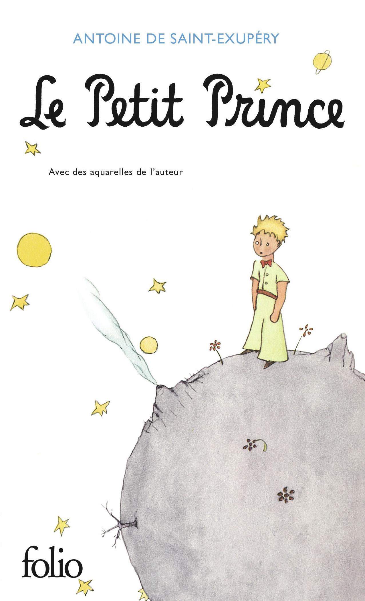 Couverture : Petit Prince (Le) Antoine De St-exupéry