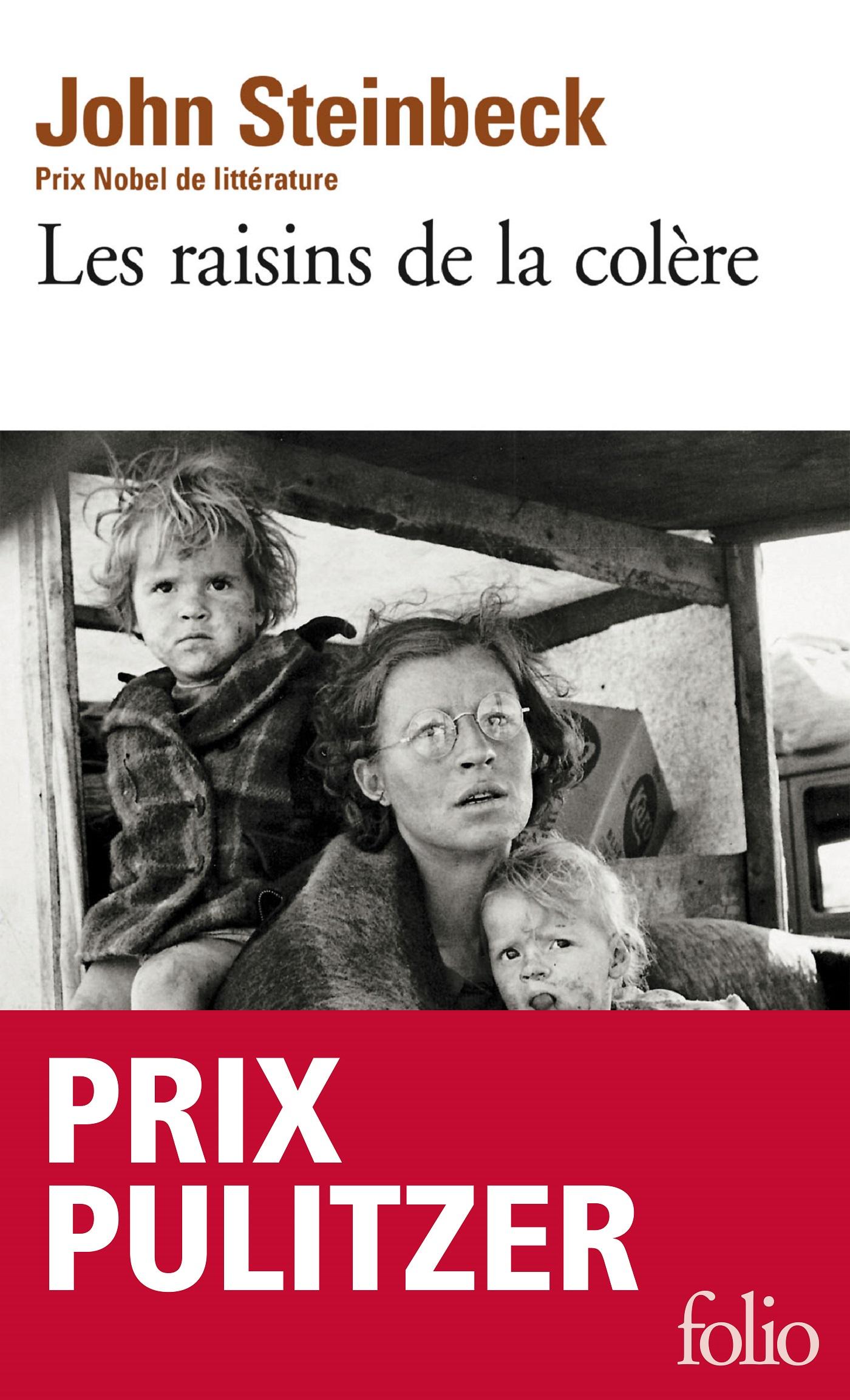 Couverture : Raisins de la colère (Les) John Steinbeck