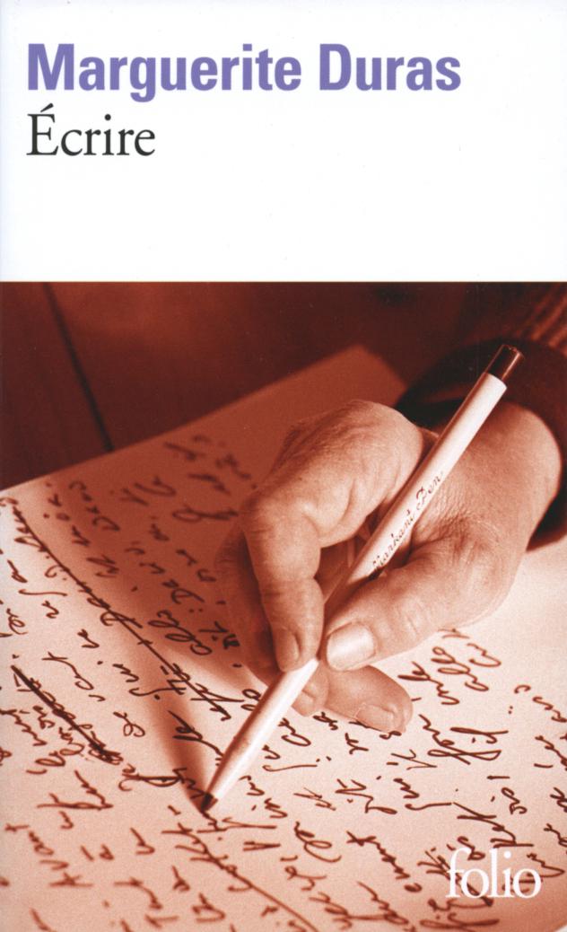 Couverture : Ecrire Marguerite Duras
