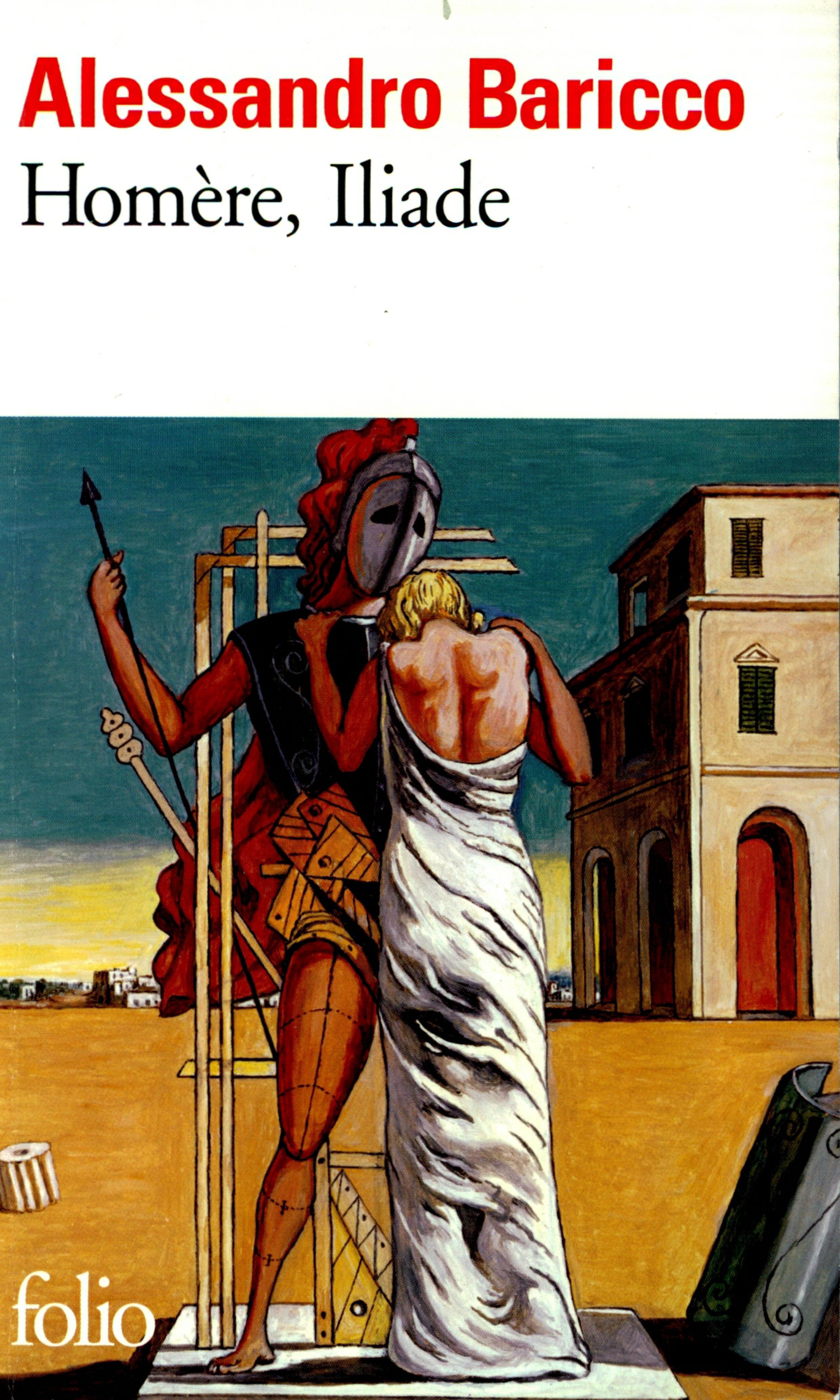 Couverture : Homère, Iliade Alessandro Baricco