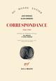 Couverture : Correspondance : 1944-1969 Jack Kerouac, Allen Ginsberg, Bill Morgan, David Stanford