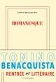 Couverture : Romanesque Tonino Benacquista