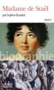 Couverture : Madame de Staël Sophie Doudet