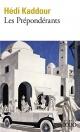 Couverture : Les prépondérants Hédi Kaddour