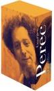 Couverture : Oeuvres, coffret T.1 et T.2 Georges Perec