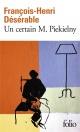 Couverture : Un certain M. Piekielny François-henri Désérable