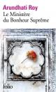 Couverture : Le ministère du bonheur suprême Arundhati Roy