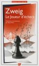 Couverture : Joueur d'échecs (Le) (édition avec dossier) Stefan Zweig