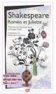 Couverture : Roméo et Juliette  William Shakespeare