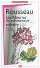 Couverture : Rêveries du promeneur solitaire (Les) Jean-jacques Rousseau