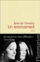 Couverture : Un renoncement René De Ceccatty