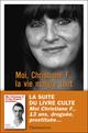 Couverture : Moi, Christiane F., la vie malgré tout Sonja Vukovic, Christiane V. Felscherinow