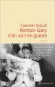 Couverture : Romain Gary s'en va-t'en guerre Laurent Seksik