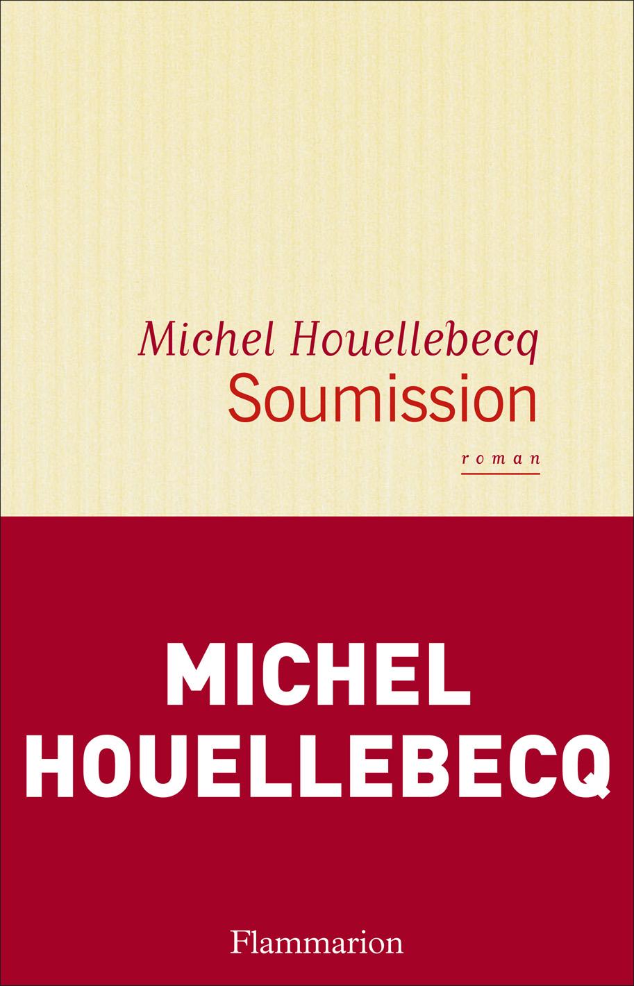 Couverture : Soumission Michel Houellebecq