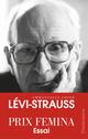 Couverture : Claude Levi-Strauss Emmanuelle Loyer