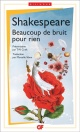 Couverture : Beaucoup de bruit pour rien.Bilingue William Shakespeare