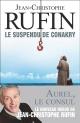 Couverture : Le suspendu de Conakry Jean-christophe Rufin
