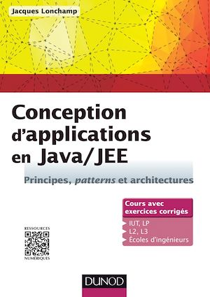 Vignette du livre Conception d'applications en Java/JEE