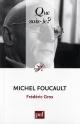 Couverture : Michel Foucault Frédéric Gros