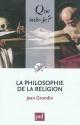 Couverture : La philosophie de la religion Jean Grondin