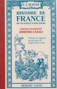 Histoire de France,de la Gaule à nos jours