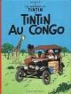 Couverture : Tintin T.2 : Tintin au Congo  Hergé