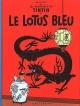 Couverture : Tintin T.5 : Le lotus bleu  Hergé