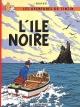 Couverture : Tintin T.7 : L'île noire  Hergé