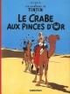Couverture : Tintin T.9 : Le crabe aux pinces d'or  Hergé
