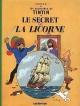 Couverture : Tintin T.11 : Le secret de la Licorne  Hergé