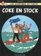 Couverture : Tintin T.19 : Coke en stock  Hergé