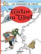 Couverture : Tintin T.20 : Tintin au Tibet  Hergé