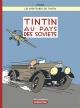 Couverture : Tintin : Tintin au pays des soviets  (Édition couleur)  Hergé