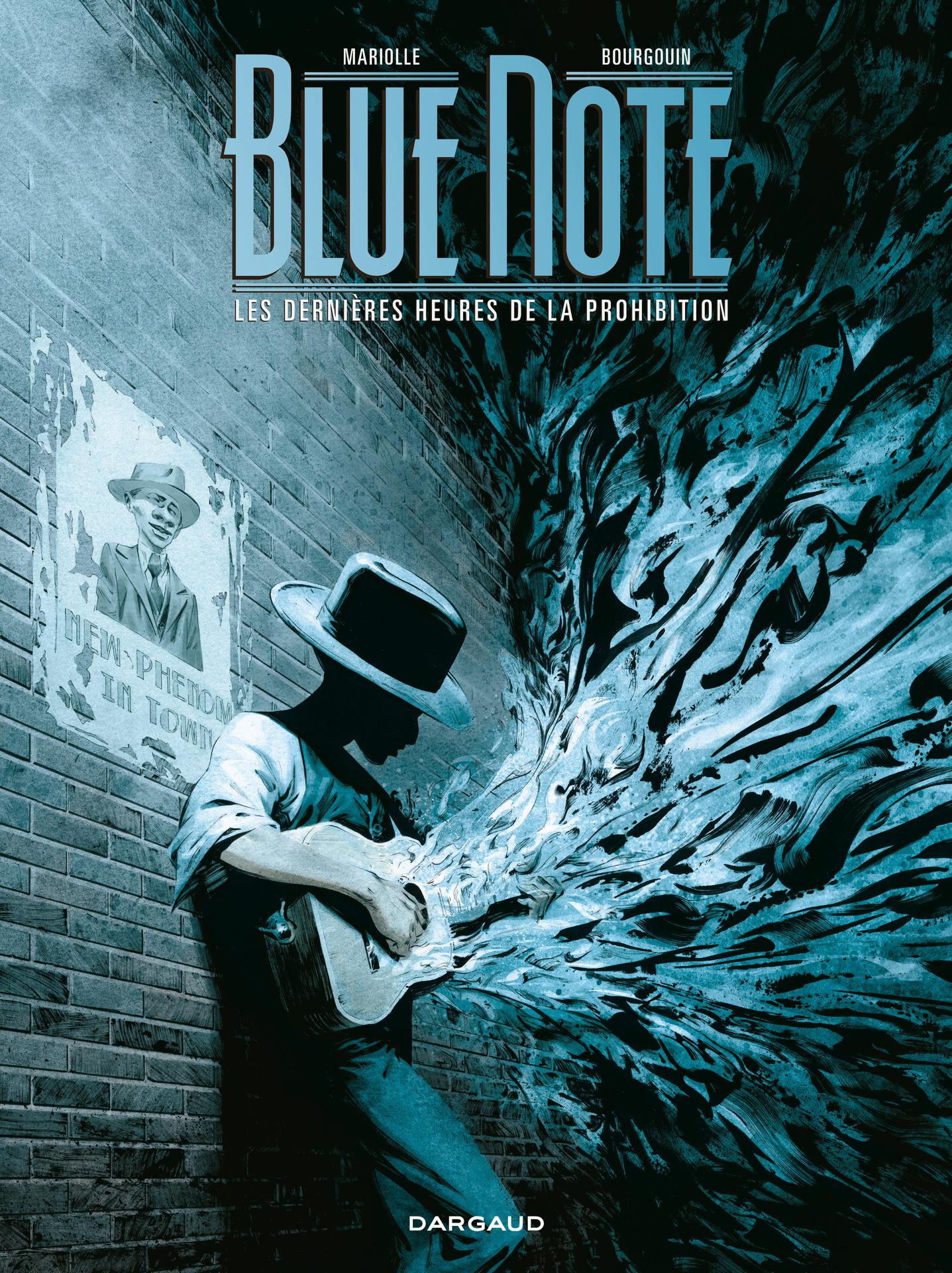 Couverture : Blue note T.2 : Les dernières heures de la prohibition Mathieu Mariolle, Mickaël Bourgouin