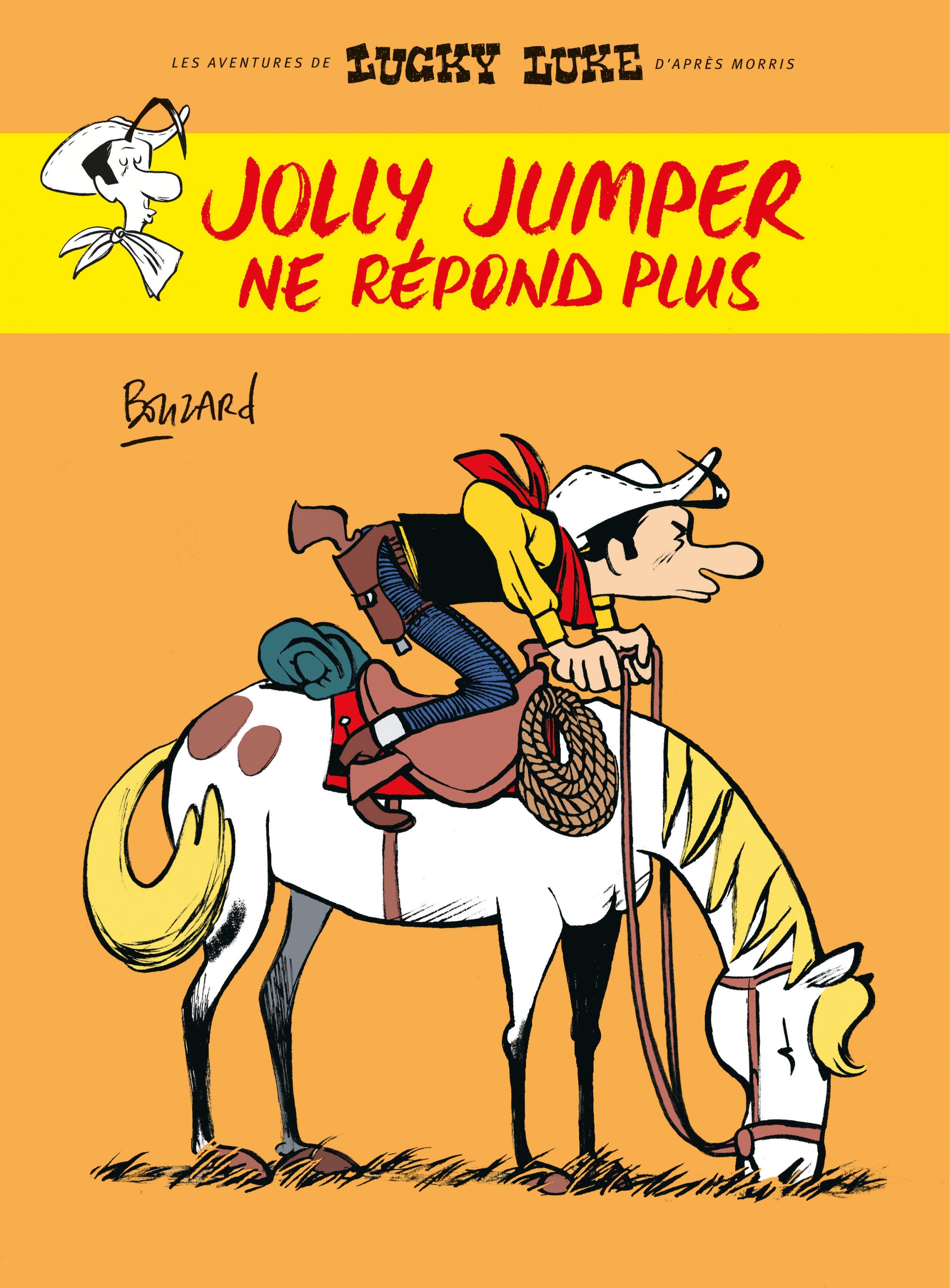 Les aventures de Lucky Luke d'après Morris. Jolly Jumper ne...