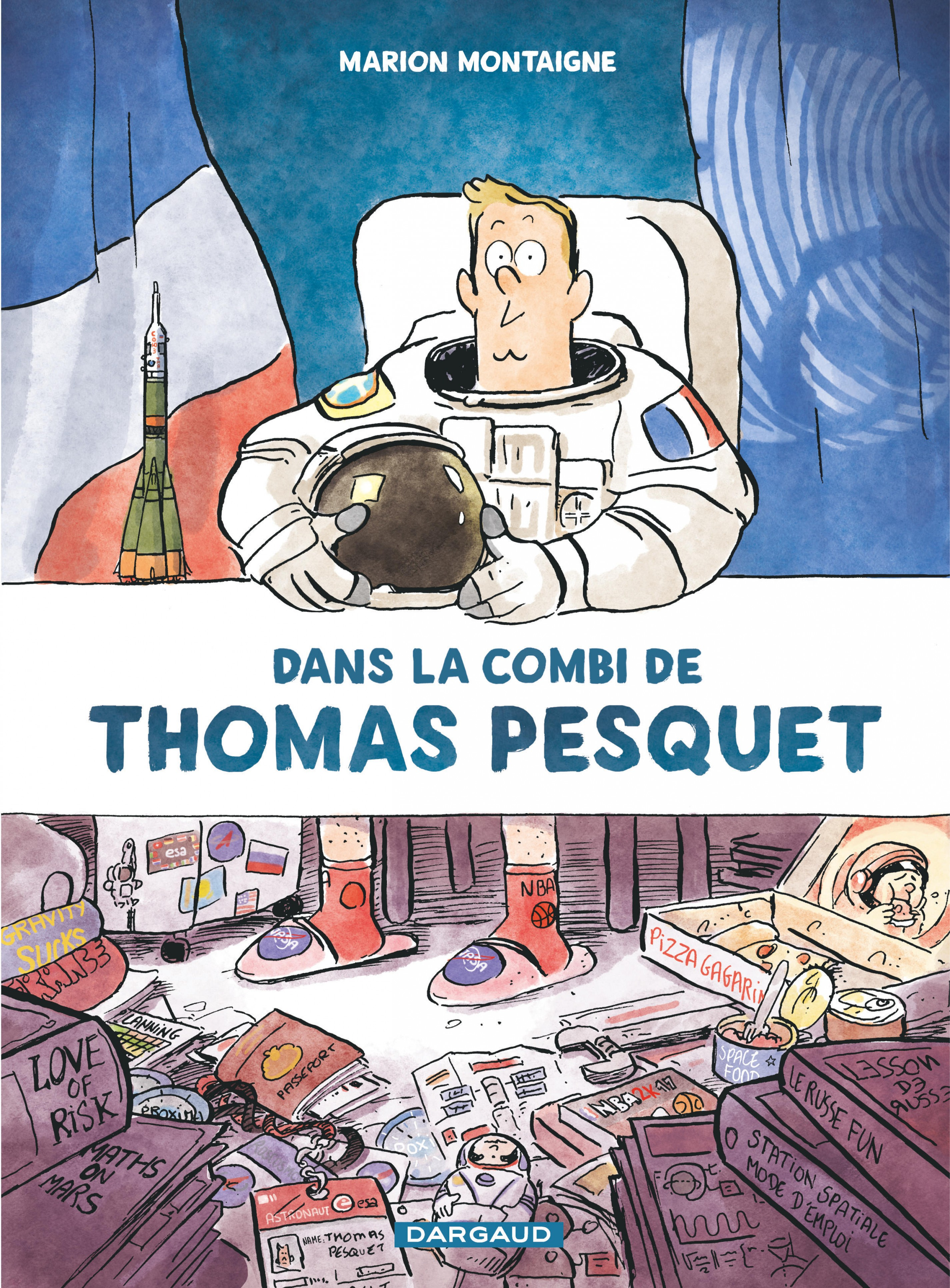 Couverture : Dans la combi de Thomas Pesquet Marion Montaigne