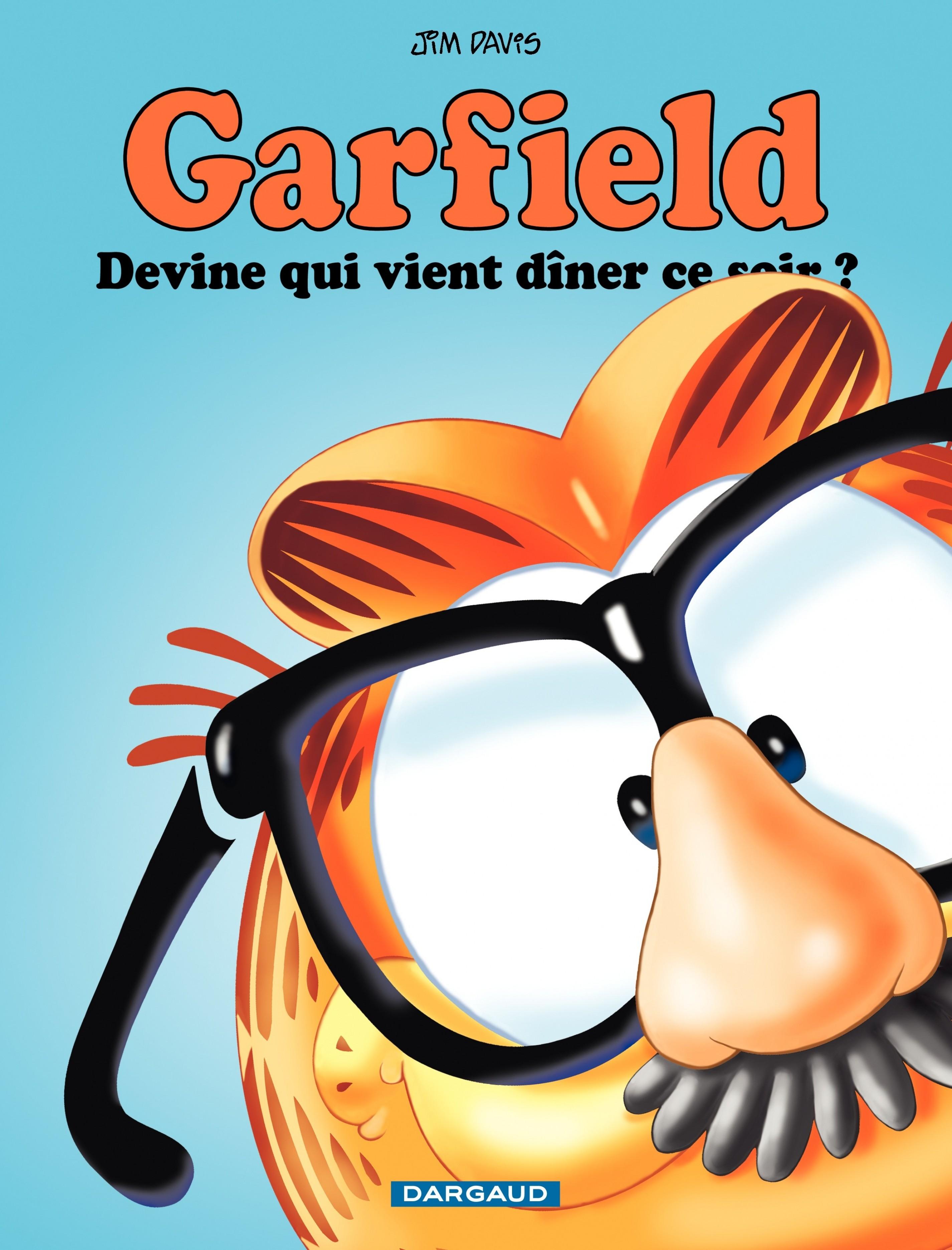 Couverture : Garfield T.42 : Devine qui vient dîner ce soir ? Jim Davis