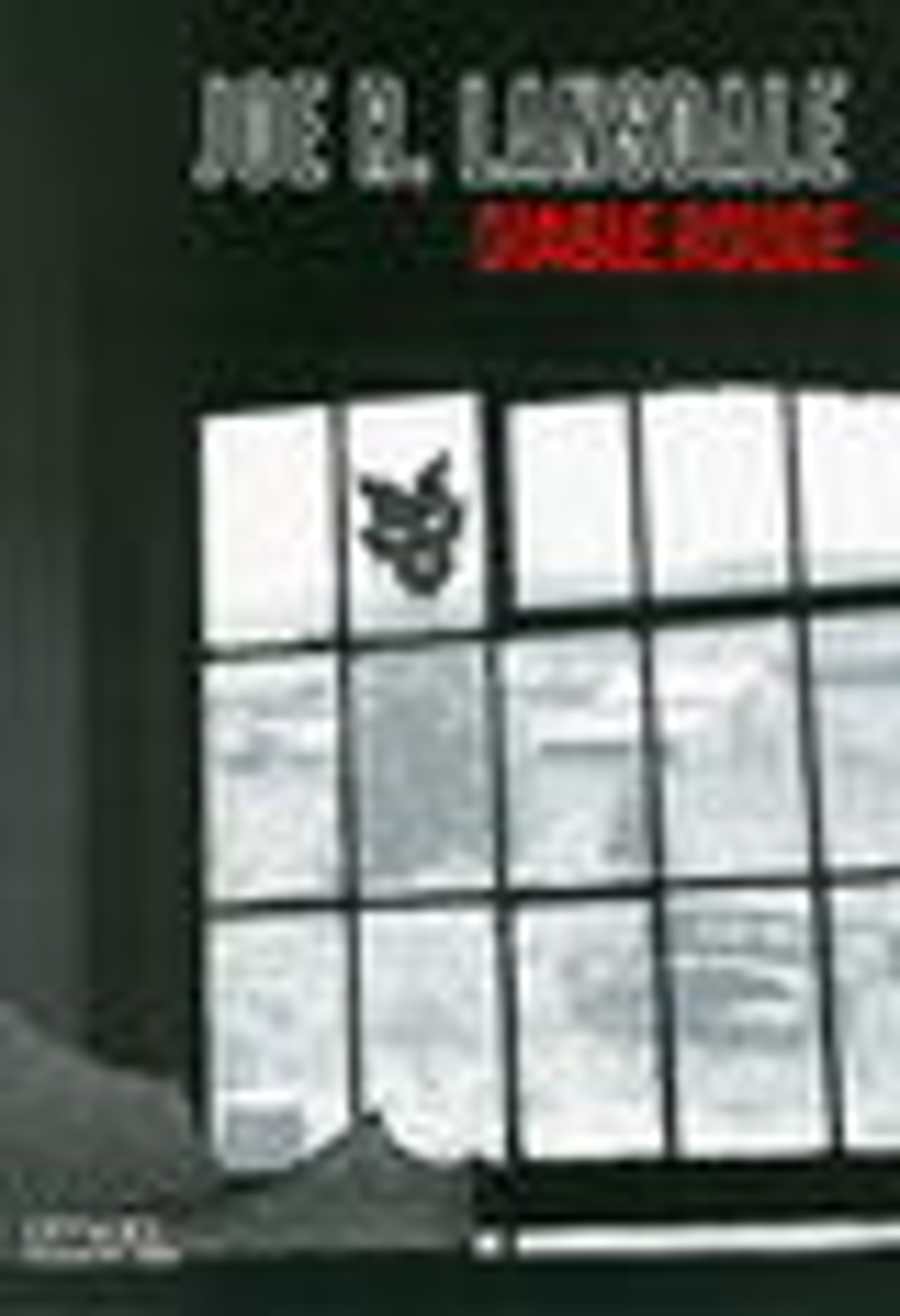 Couverture : Diable rouge Joe R. Lansdale
