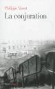 Couverture : Conjuration (La) Philippe Vasset