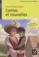 Couverture : Contes et nouvelles Guy De Maupassant