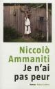 Couverture : Je n'ai pas peur Niccolo Ammaniti