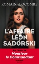Couverture : L'affaire Léon Sadorski Romain Slocombe