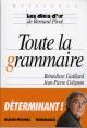 Couverture : Toute la grammaire Bernard Pivot