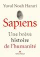 Couverture : Sapiens: Une brève histoire de l'humanité Yuval Noah Harari