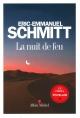Couverture : La nuit de feu Eric-emmanuel Schmitt