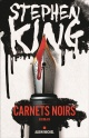 Couverture : Carnets noirs Stephen King